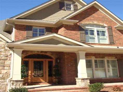orange brick exterior paint schemes images