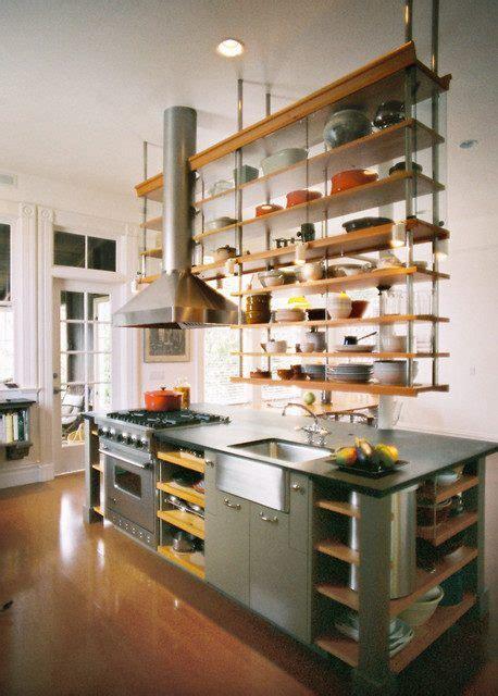 ceiling hanging shelf open shelf kitchen ideas open kitchen cabinets photos