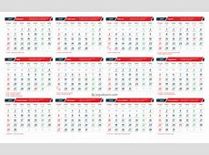 Download Template Kalender 2019 CDR Lengkap Dengan