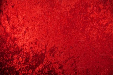 red crushed velvet background abstract