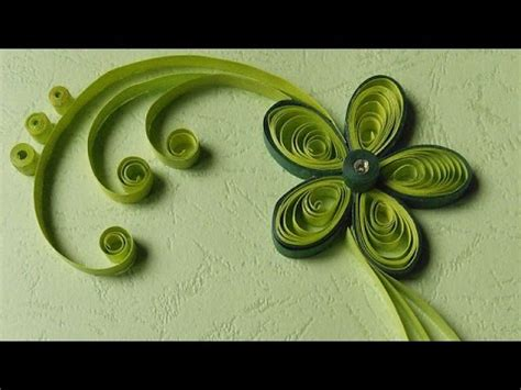 paper quilling greeting cards flower hand works