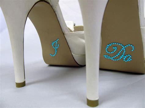 I Do Diamante Rhinestone Wedding Shoe Applique Sticker