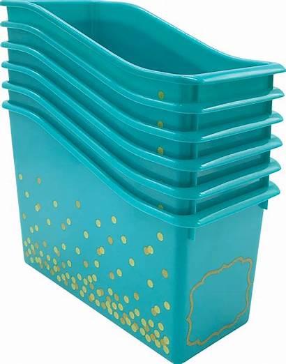 Bins Plastic Pack Confetti Teachercreated