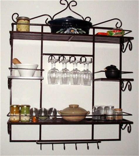 étagère en fer forgé pour cuisine etagère murale pour cuisine boutique meubles iadc gabon