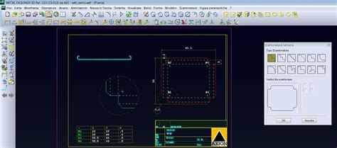 metal designer cad  software  sheet metal working