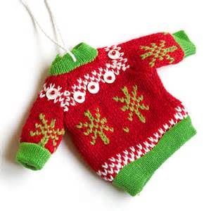 new in the store tacky ugly christmas sweater holiday ornament the ugly sweater shop