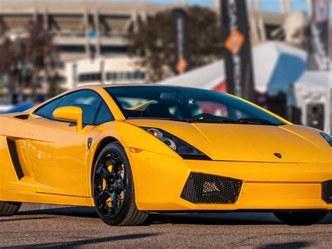yellow lamborghini front download wallpaper 1024x768 lamborghini gallardo yellow