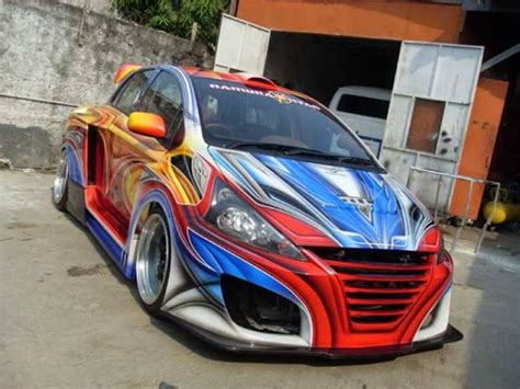 Toyota Vios Modification by Story Of Car Modification In Worldwide Toyota Vios Modified