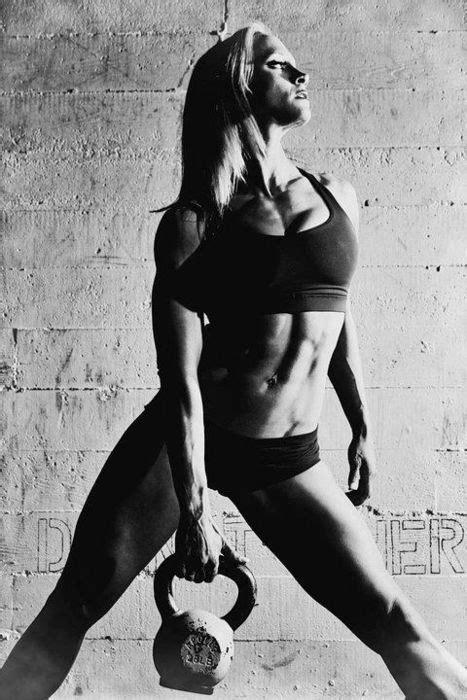 kettlebell fitness female models