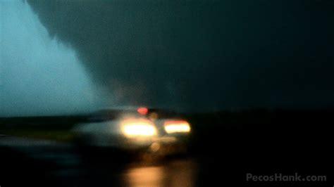 chaser hit  tornado oklahoma nightmare youtube