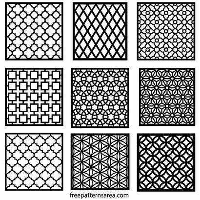 Pattern Geometric Repeating Motifs Patterns Stencil Templates