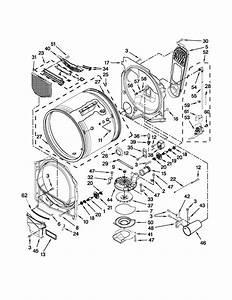 Whirlpool Cabrio Platinum Dryer Parts List