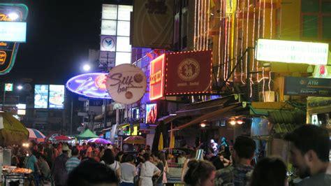 khaosan road   quiet night bangkok