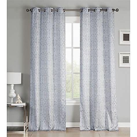 96 Inch Grommet Curtains by Buy Kensie Krisna 96 Inch Grommet Top Window Curtain Panel