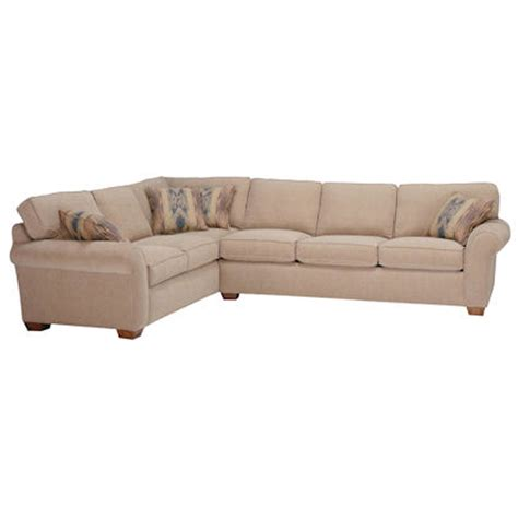 Flexsteel Vail Sofa Leather by Flexsteel 7305 Sect Vail Sectional Discount Furniture At