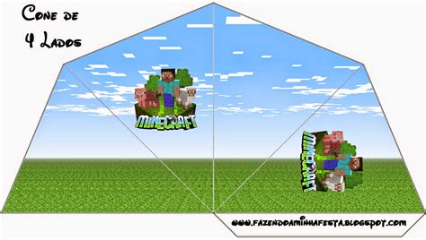 minecraft party  printables images  papers