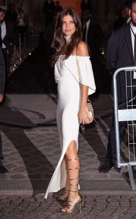 SARA SAMPAIO at Fenty x Puma by Rihanna Fashion Show at ...