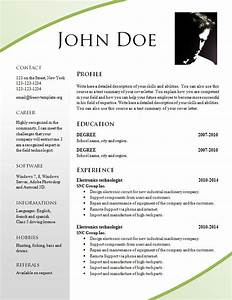 free resume templates 695 701 free cv template dot org With free attractive resume templates