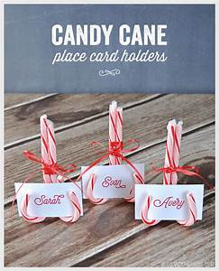 Candy Cane Place Card Holders - Vicky Barone