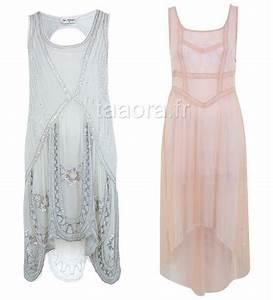 Robe Année 20 Vintage : robe ann es 20 charleston ~ Nature-et-papiers.com Idées de Décoration