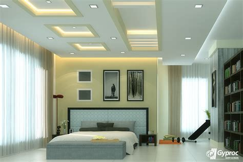 Modern Bedroom Gypsum by This Graceful Falseceiling Will Definitely Change The