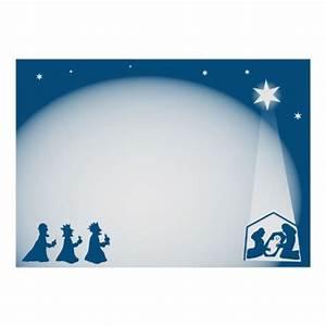 Nativity Border Poster | Zazzle