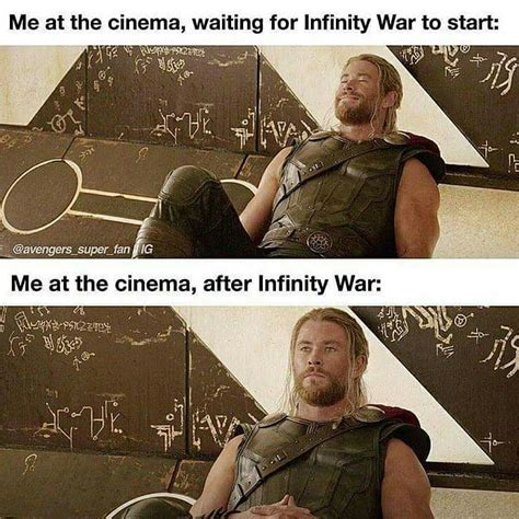 Avengers Infinity War Memes - 5 avengers infinity war memes that perfectly describe my