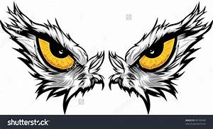 Hawk clipart angry - Pencil and in color hawk clipart angry