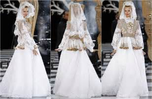 revealing wedding dresses franck sorbier 39 s set the bar high with extravagance reflecting a quot quot look of