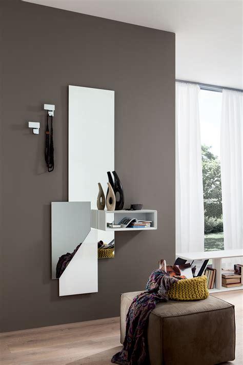 mensole salotto specchiera ingresso appendiabiti con mensole design
