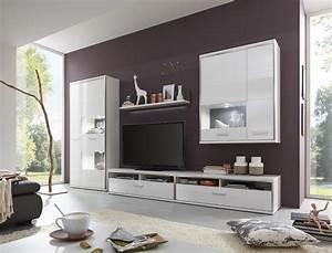Tv Wand Weiß Hochglanz : wohnwand travis 24 wei hochglanz 5 teilig medienwand tv m bel tv wand wohnbereiche wohnzimmer ~ Indierocktalk.com Haus und Dekorationen