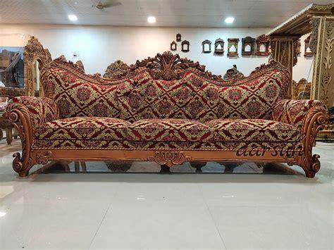 quality copper finish sofa set sf