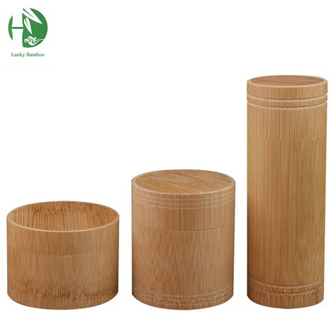 4 kitchen canister sets handmade bamboo tea container