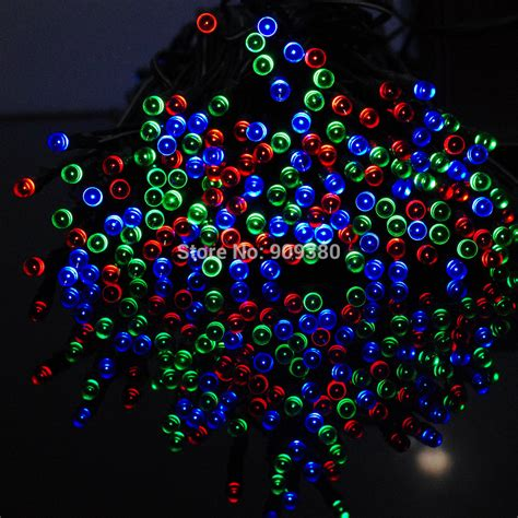 solar christmas lights 72ft 22m 200 led 8 modes solar