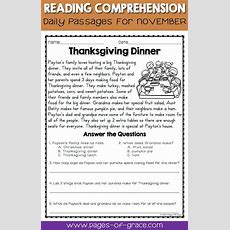 Help Your Students Enjoy Reading Comprehension Practice With This Set Of Daily Passages For