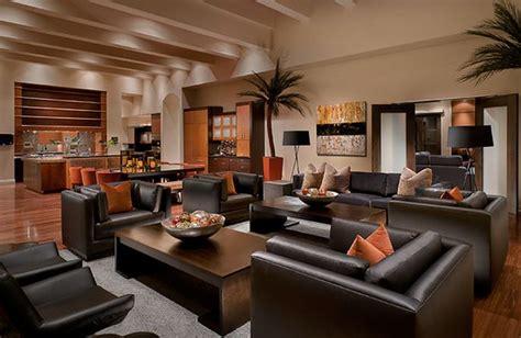 peinture cuir canapé decoration salon moderne noir deco maison moderne