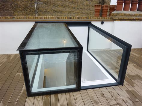 Roof Lights by Slimline Slidalite Automatic Closing Electric Sliding