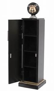 Cd Rack Holz : zapfs ule tanks ule 87cm cd regal schrank rack cd st nder route 66 minibar ebay ~ Markanthonyermac.com Haus und Dekorationen
