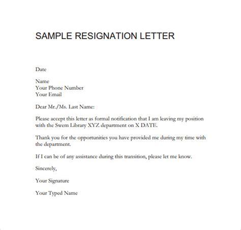 resignation letter  fulltime   diem cover