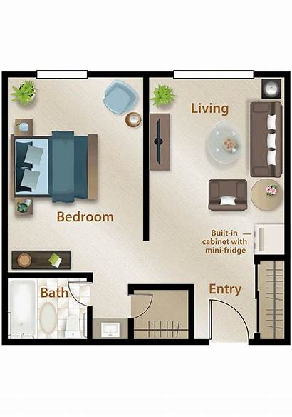 Living Assisted Bedroom