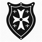 Shield Medieval Silhouette Decoration Shape Drawing Medal