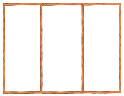 10 Blank Tri Fold Brochure Template Images Free Blank