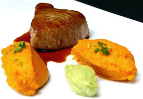 comment cuisiner steak thon steak de thon sauce teriyaki cookismo recettes saines