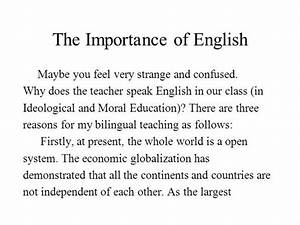 Essay On Importance Of English Language Best Dissertation Ever  Does A Literature Review Have To Be In Alphabetical Order Essay On  Importance Of English Language