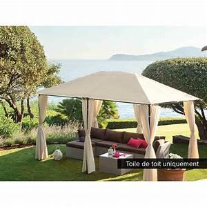 Toile Pour Jardin : hesperide ctoile de toit pour la tonnelle santorini 3 x 4 m ~ Teatrodelosmanantiales.com Idées de Décoration