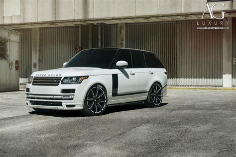 luxury black range rover ag luxury wheels range rover forged wheels