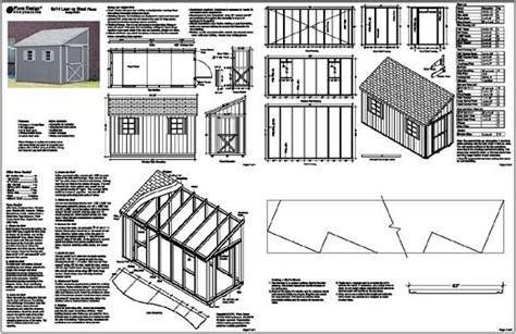 shed plans  straightforward ways     control pigeon birds shed plans kits