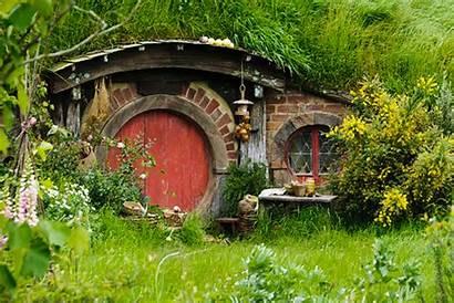 Hobbit Houses Homes Hobbiton Underground Build Dome