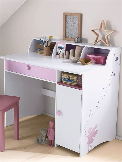 but bureau fille idee rangement chambre fille 4 poet n225padov na t233mu