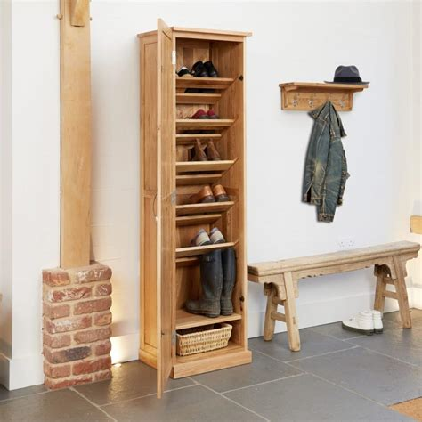 Cupboard Shoes by Mobel Oak Shoe Cupboard Akd Furniture